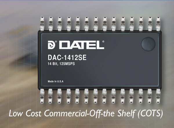 DATEL, 14-bit 125MHz Digital-to-Analog Converter